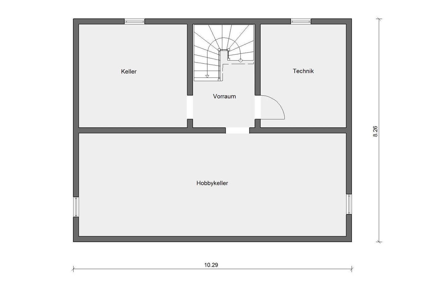 einfamilienhaus mit terrasse schw rerhaus. Black Bedroom Furniture Sets. Home Design Ideas