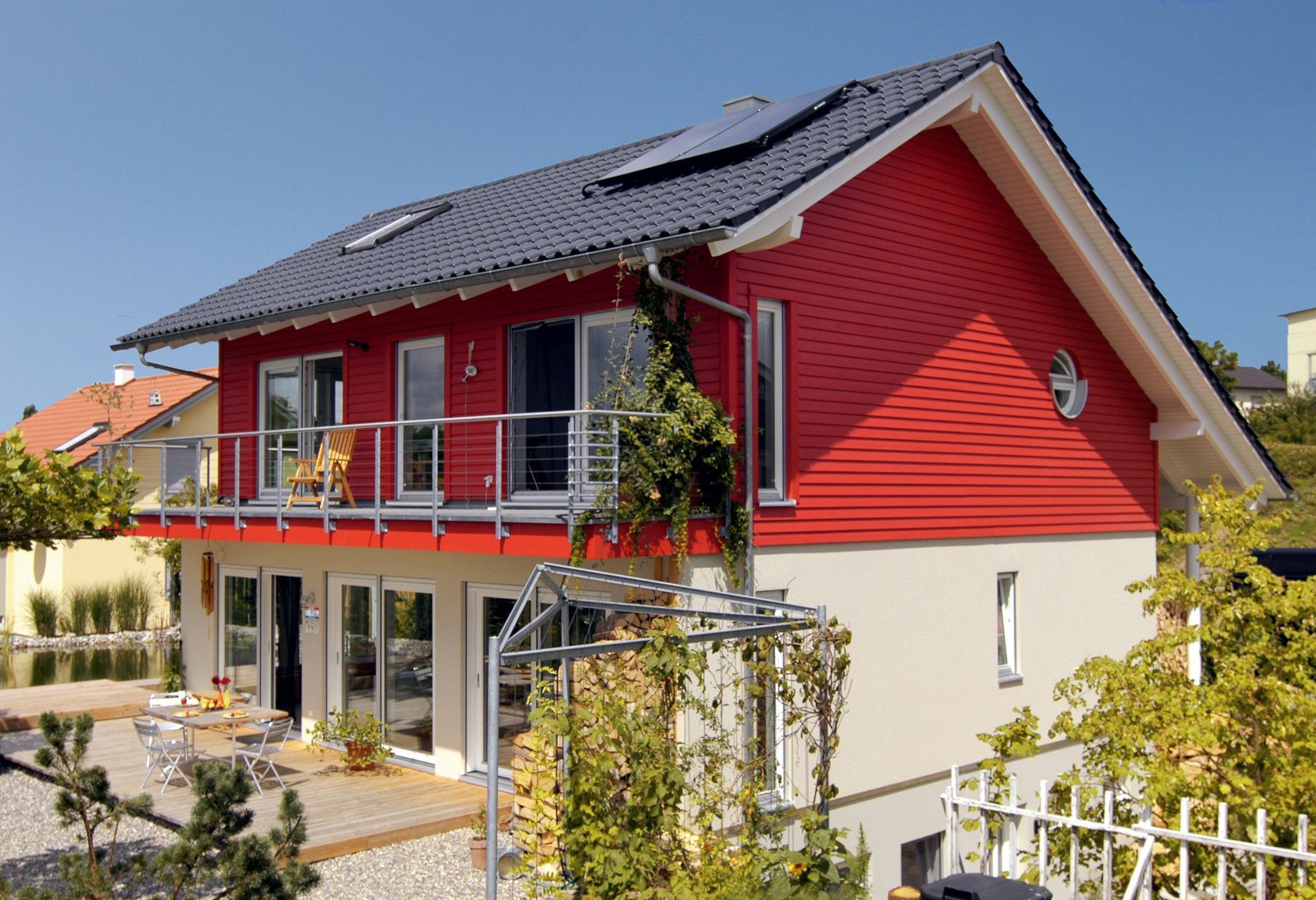 Casa unifamiliare con molte finestre   E 15-159.2 ...