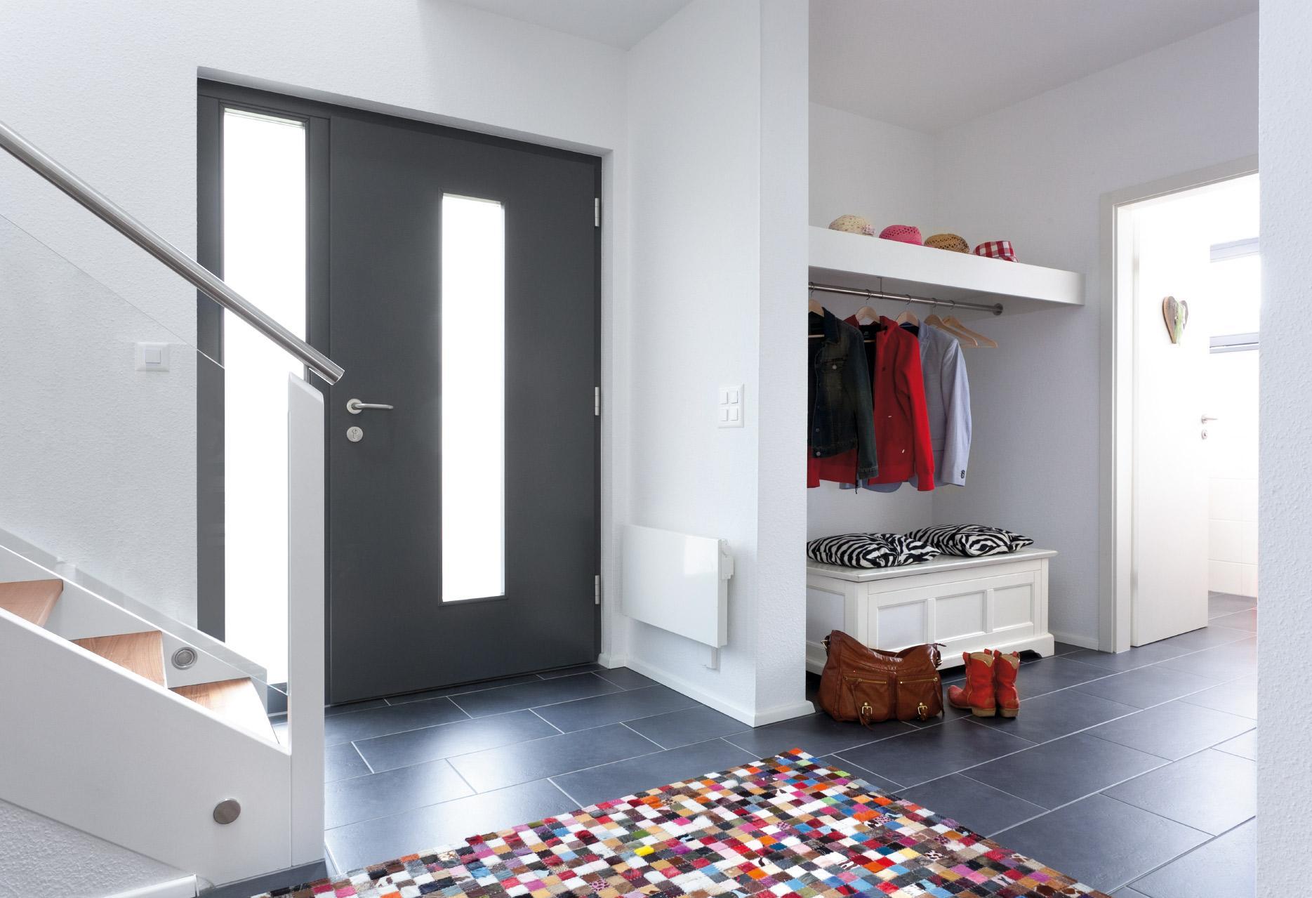 haus mit lamellenfassade schw rerhaus. Black Bedroom Furniture Sets. Home Design Ideas