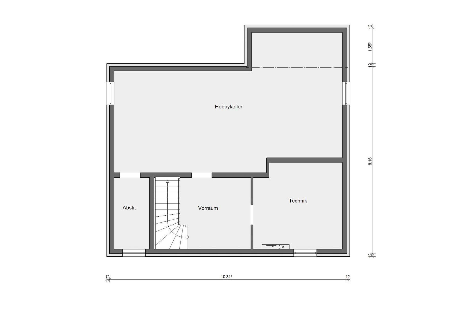 Villetta Urbana Con Particolare Tetto A Padiglione Schworerhaus