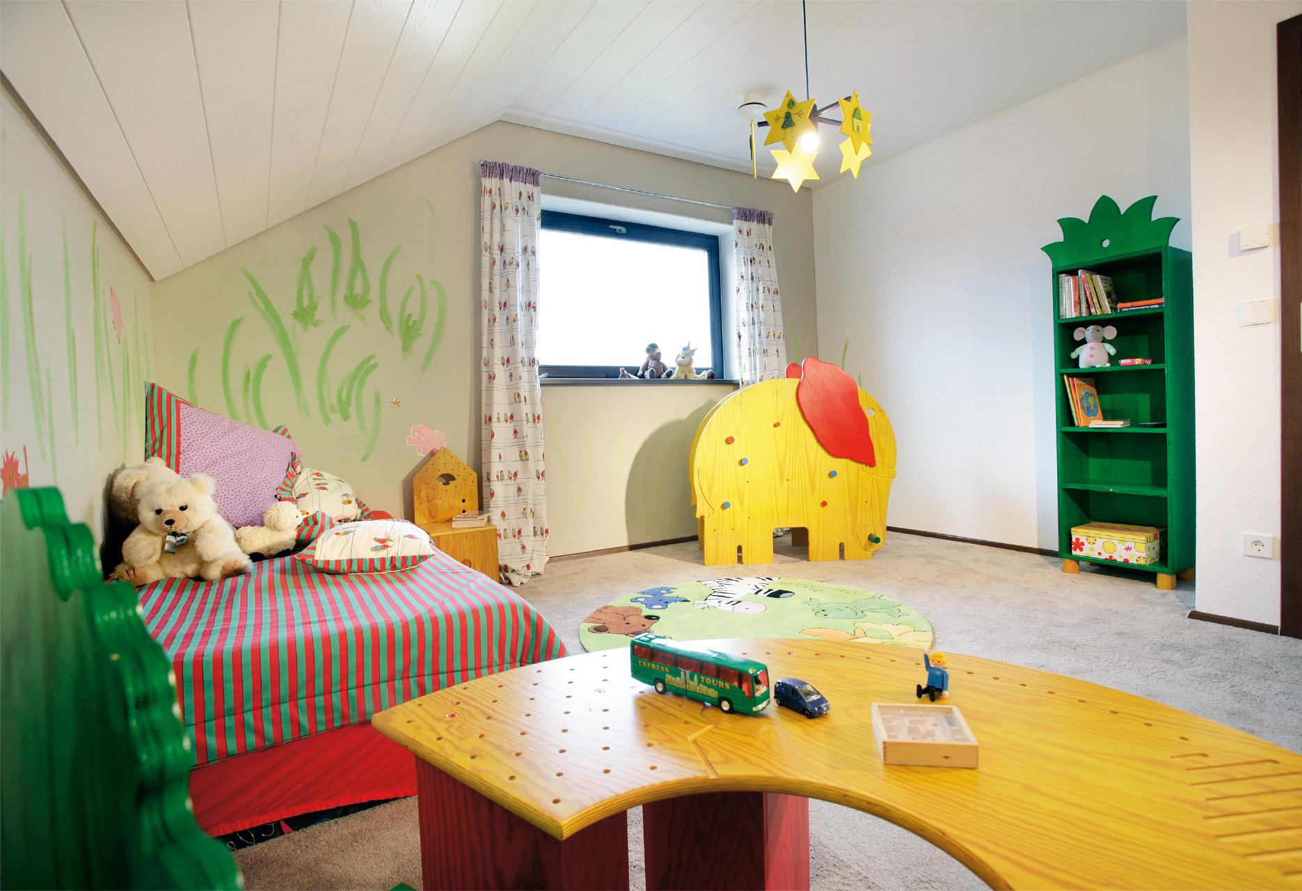 [Translate to Français:] Buntes Kinderzimmer