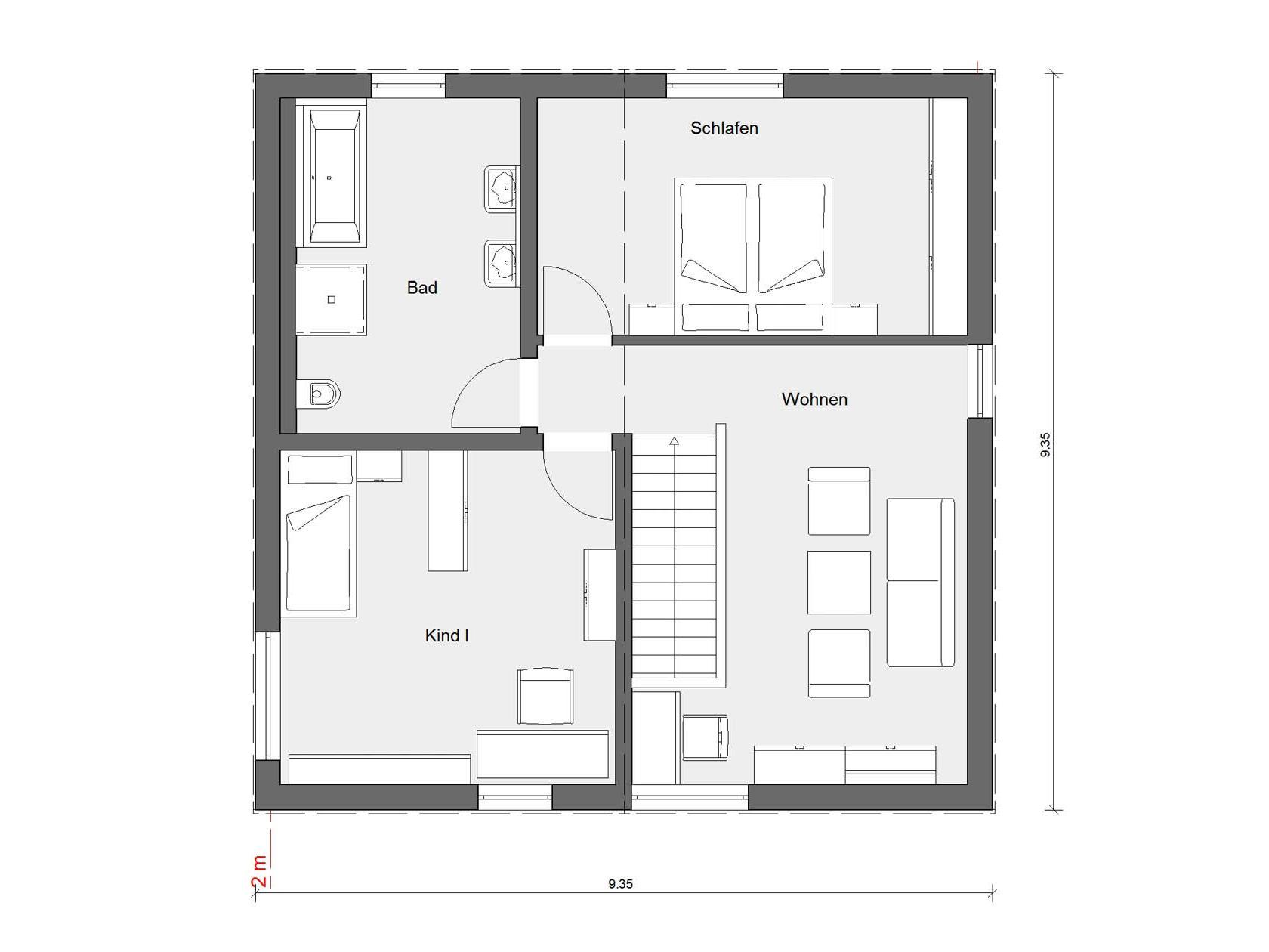 sch ner wohnen house mono. Black Bedroom Furniture Sets. Home Design Ideas