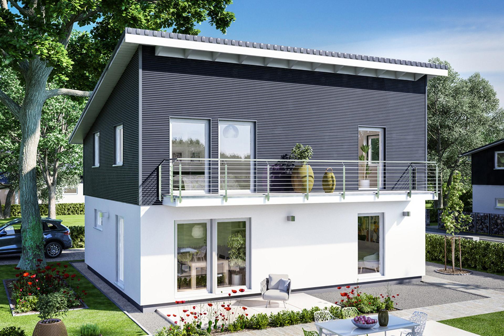 Maison avec toit à une pente | SchwörerHaus