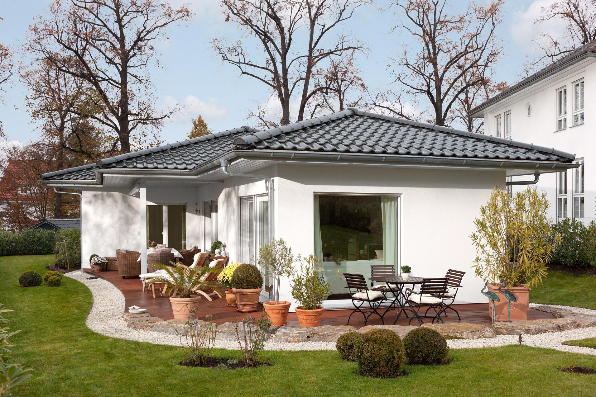 Bungalow avec terrasse couverte | SchwörerHaus