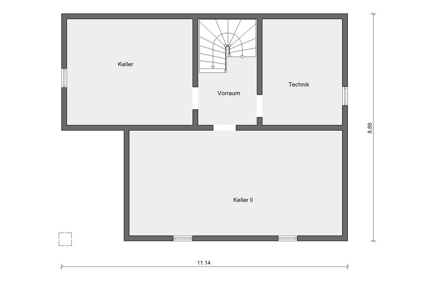 Floor plan basement