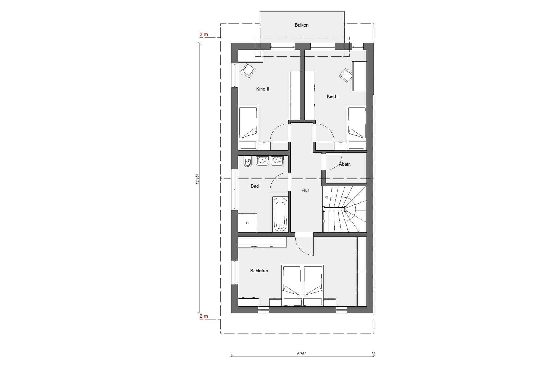 Ground floor first floor D 15-216.1 terraced house