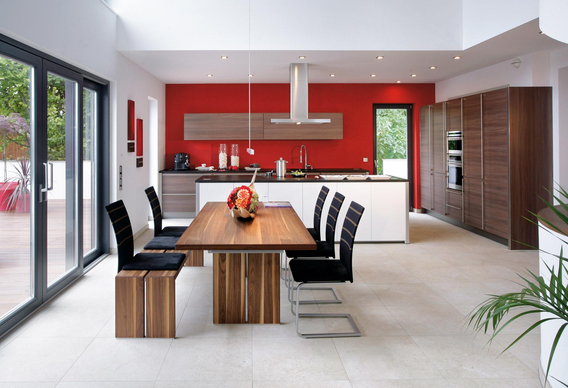 High quality kitchen with dining room