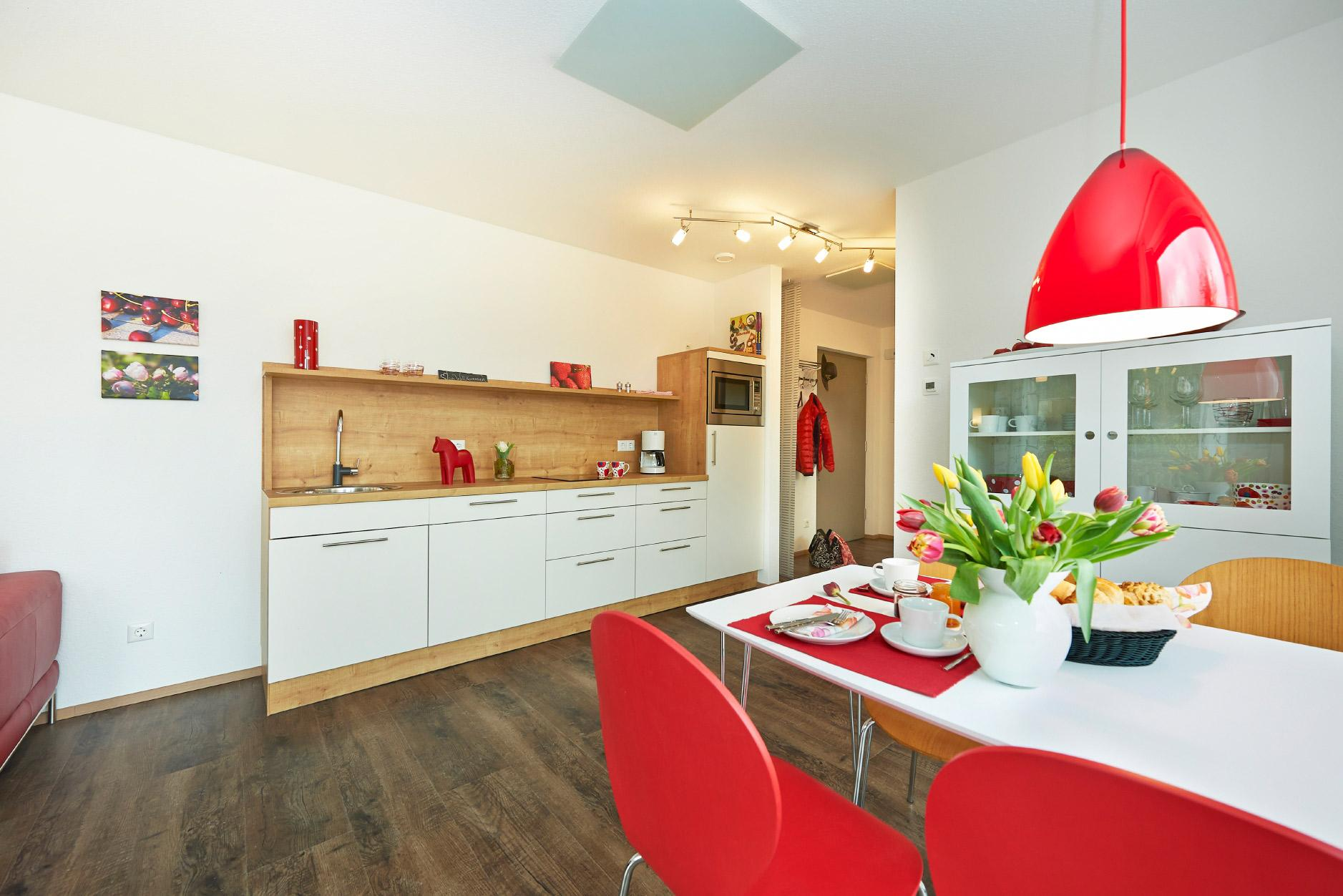 Friendly apartment in the FlyingSpace holiday unit