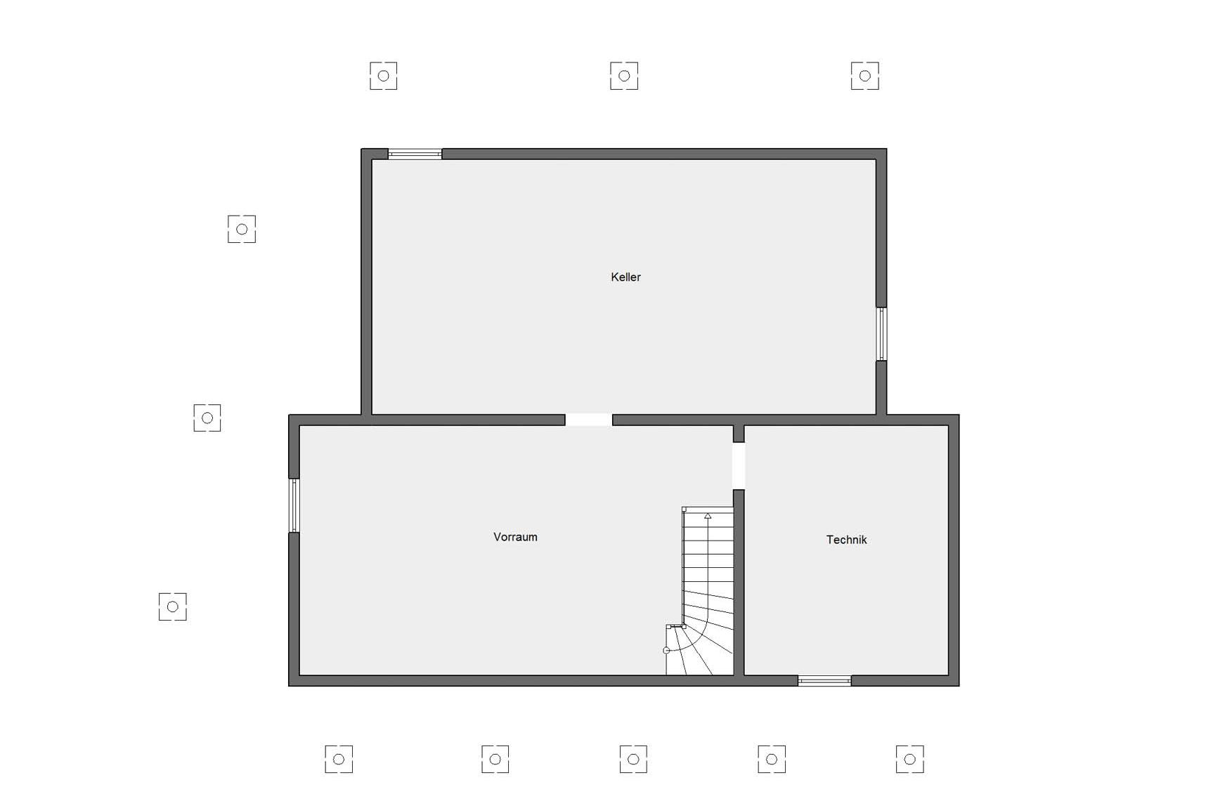 Basement plan Young Family Home 2