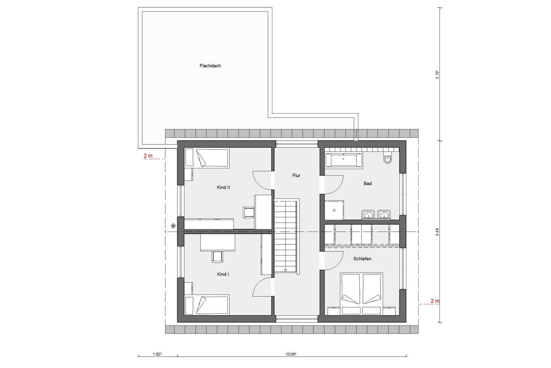 Ground floor attic E 15-179.1 The energy house for families