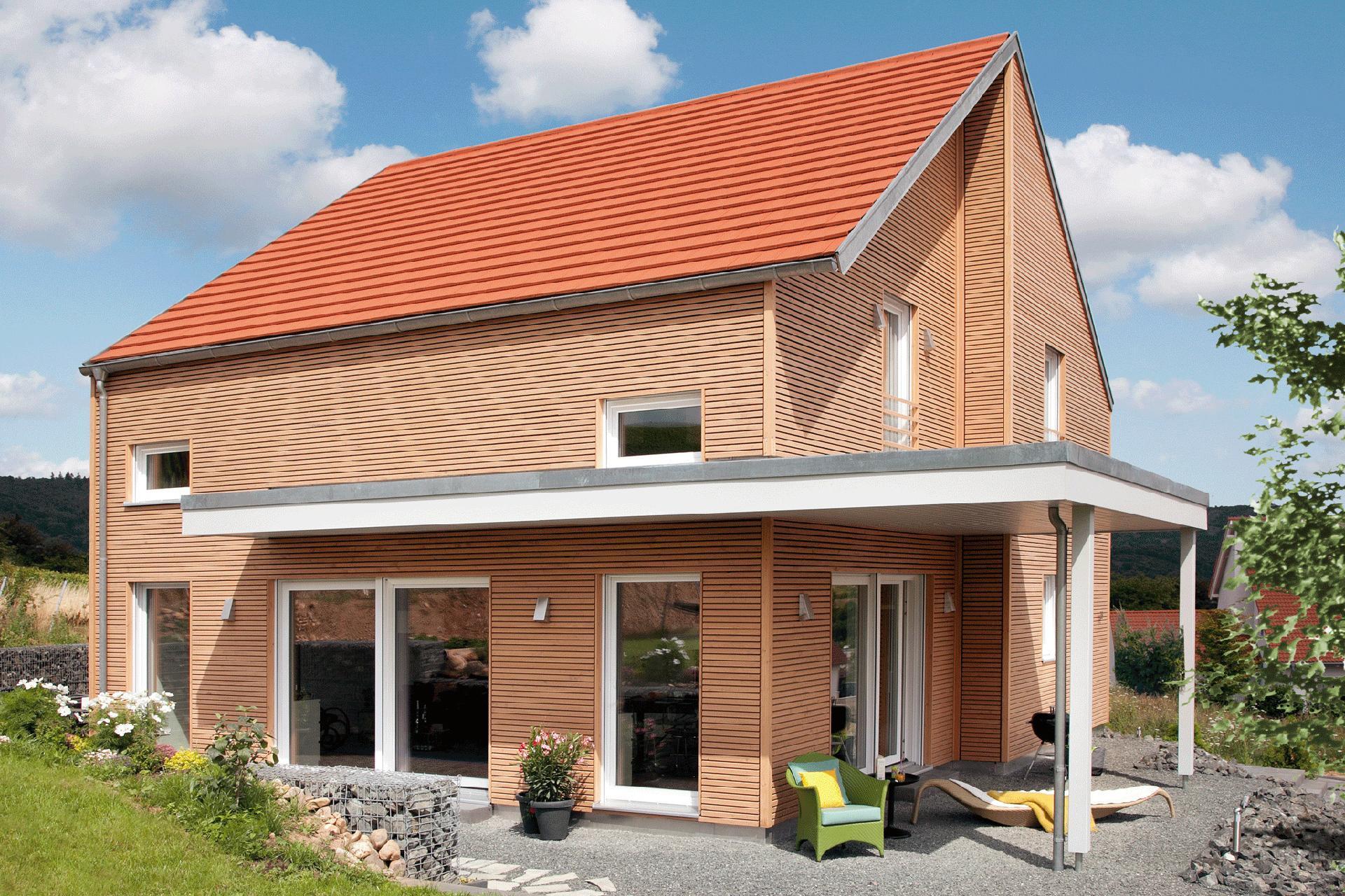 holzfassade haus modern timber home schw rerhaus. Black Bedroom Furniture Sets. Home Design Ideas