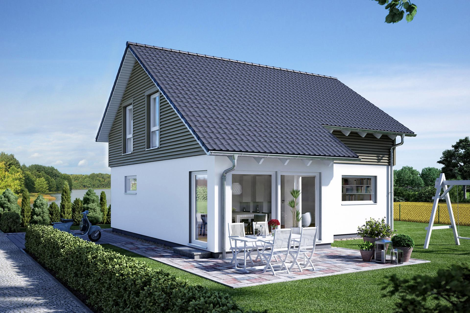 haus mit erker wohn design. Black Bedroom Furniture Sets. Home Design Ideas