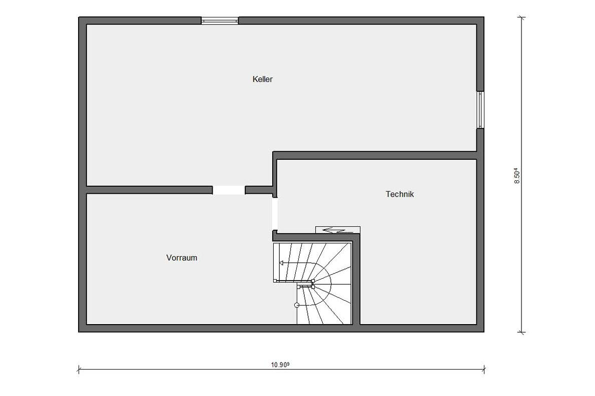 Ground floor basement E 10-230.1 Bungalow with roof terrace