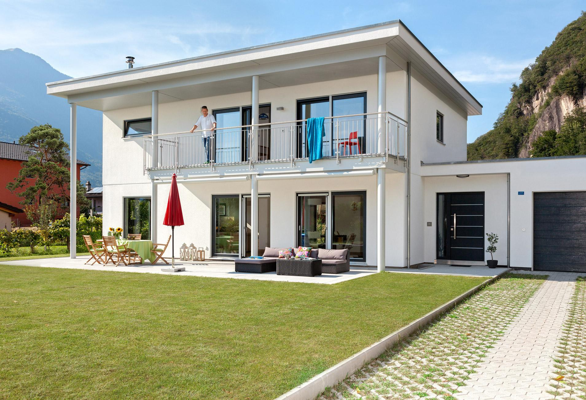 Best archi maison moderne images design trends 2017 for Modernes haus